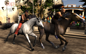 Founders day in Andoria City: the Race by vwrangler