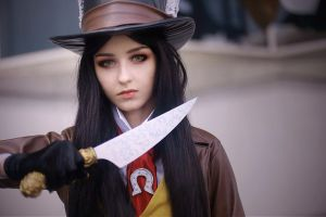 Alice Madness Returns- Late But Lucky by Axilirator