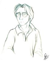 Daniel Jackson sketchiness by spiritwolf77