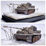 Tiger I in Winter Camo, 1:35, southern Russia 1944 by theCrow65