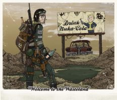 WELCOME TO THE WASTELAND by greymachine