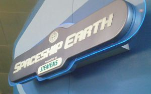 OV E3 SpaceShip Earth Logo by TaRtOoN-Man94