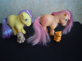 playset ponies by theladyinred002