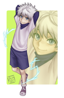 Killua by Fishiebug