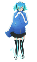 Mekakucity Actors - Ene by Sonellion