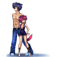 Sexy Number Wolves by Tsukiko88