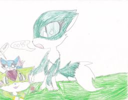 Forest Colors Binder 1: Other Wolves Together by KIKIandZOEJAY
