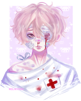 oc: blood stained by milkysou
