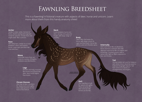 Fawnling Breedsheet: Overview by TigressDesign