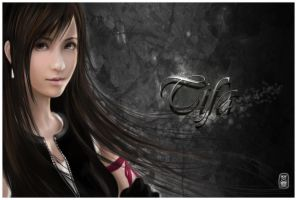 Tifa-2nd attempt by silviring