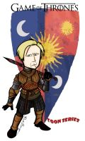 Brienne of Tarth - Game of Thrones by toonseries