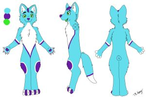 Fox ref sheet by CamberTwinkles