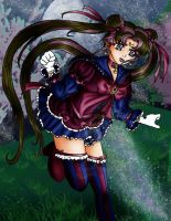 Gothic Sailor Moon by charligal