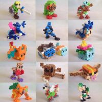 3D Perler Bead Art by Xaveric