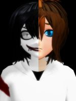 [MMD] Jeff The Killer by Lavinalee