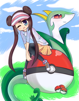 Pokemon White and Black 2 by Kukyi-kun