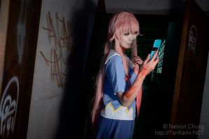 Yuno Gasai cosplay by Soso by I-Love-Claymore