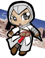 AC: Chibi Altair by ArtieDrawings
