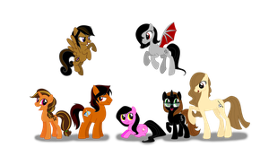 ...My Little Pony Pals... by LinaPrime