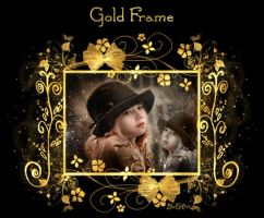 Gold Frame by janasbangel