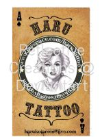 Tattoo business card by ReflectiveCreations
