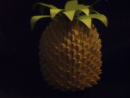 3D origami Pineapple by Rescue-Is-Possible