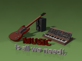 All we need is music by f0xy0k
