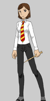 Tracy Quartermaine in Hogwarts by Dorothy64116