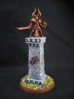 Mystical Monument: Sinister Statue by Taelonar