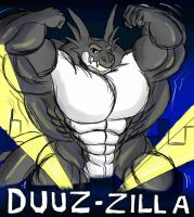 Duuz-zilla poster by EmotionCreator
