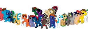 Bronies of Bronynet V2 by Spectty