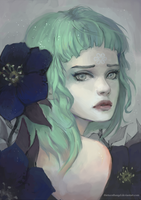 Hellebore by thirteenthangel