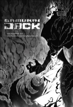 Samurai Jack  COMMISSION by marvelmania