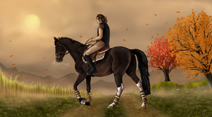 ~ Autumn morning ride ~ by JKoenegge