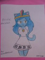nicole maiden for isaacbandicoot by bigbob101