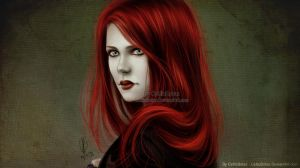 The Red Sybil by CelticBotan