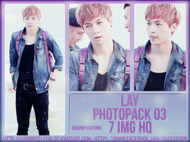 Lay (EXO) - PHOTOPACK#03 by JeffvinyTwilight