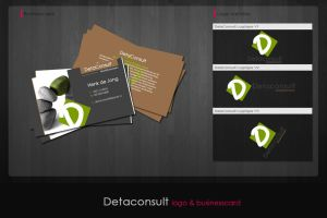Corporate identity DetaConsult by simoner