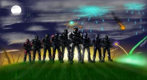 SFC: Army of Angels by KingFicus