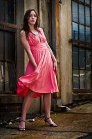 Pink dress by hilaree