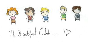 The Little Breakfast Club by SmudgeThistle