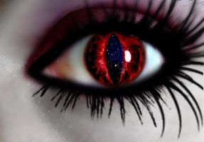 Red Eyed by visneda
