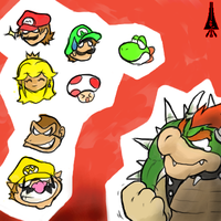 Give Bowser an own game by HakuryuVision