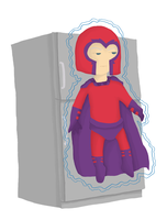 Magneto, Master of Magnetism by whosname