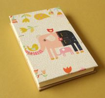 Coptic Journal Elephant in Jeans by GatzBcn