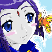 raven and butterfly by angelachoi91