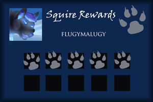 Flugymalugy Squire Rewards Card by SapphireSquire