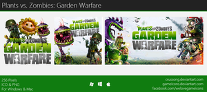 Plants vs. Zombies: Garden Warfare - Icon by Crussong