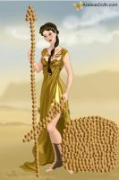 Athena Greek Goddess of Wisdom and War by MissRamdomGirl17