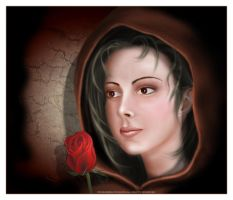 Lady of the Rose by ruxique